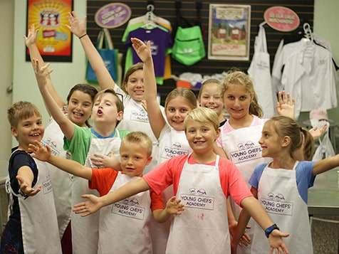 Young Chefs Academy Franchise Students