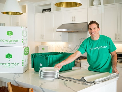 MoveGreen Franchise Packing