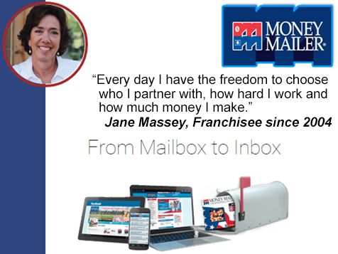 Choose how much you make with a Money Mailer franchise