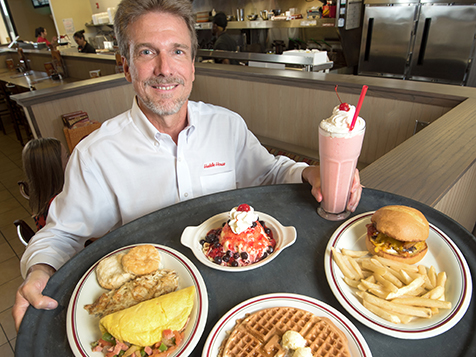 Huddle House Franchisee, Gregg Hansen