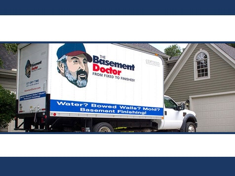 The Basement Doctor Franchise - Truck