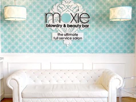 Moxie Blowdry & Beauty Bar Franchise Waiting Area