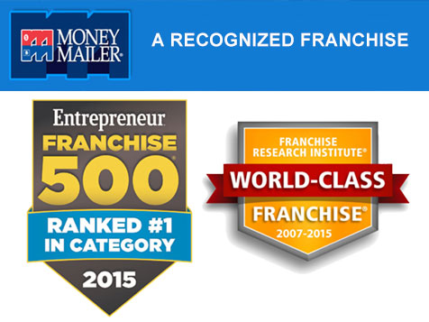 Money Mailer is recognized by the franchise industry