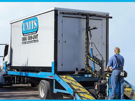 UNITS Mobile Storage franchise moving system