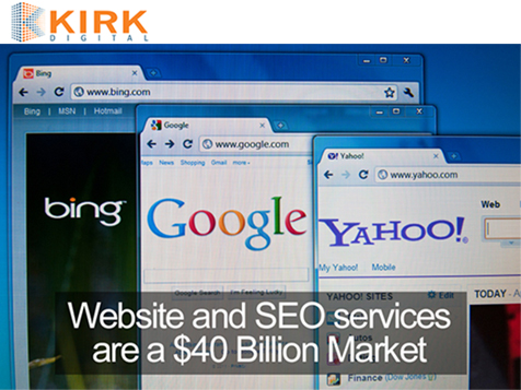 Kirk Digital Franchise caters to a $40 billion market