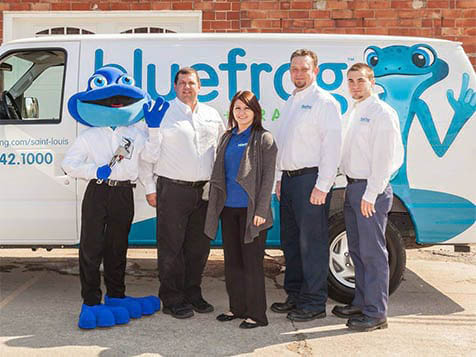 Own a Blue Frog Plumbing + Drain Franchise