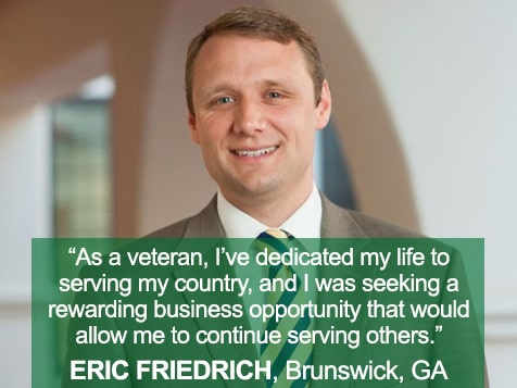Eric Friedrich, FirstLight Home Care Franchise Owner