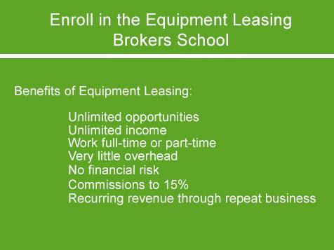 National Association Of Equipment Leasing Brokers