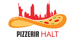 Pizzeria Halt Franchise logo