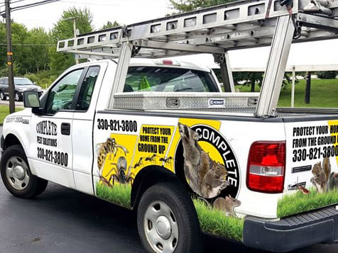 Complete Pest Solutions Truck