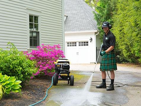 Pressure Washing - Men In Kilts Franchise