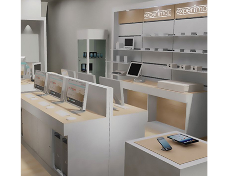 Inside a new Experimac franchise location