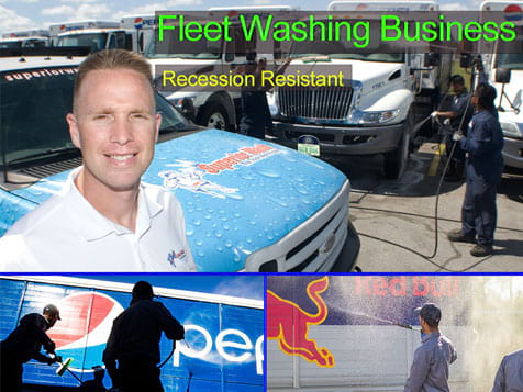 Own a Superior Wash Franchise Fleet Washing Business
