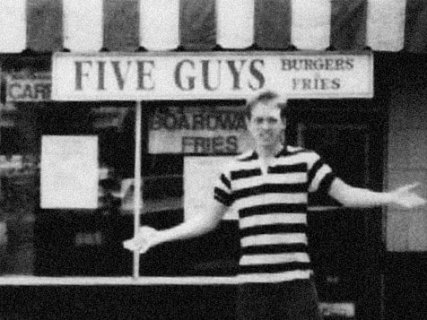 Original Five Guys Burgers and Fries in VA