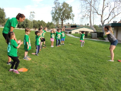 Group of kids in Amazing Athletes Franchise Program