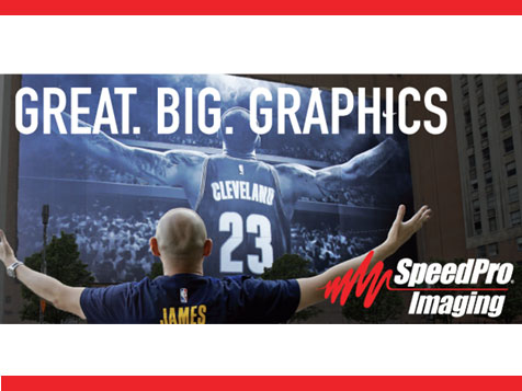 SpeedPro Imaging Printing Franchise Great Big Graphics