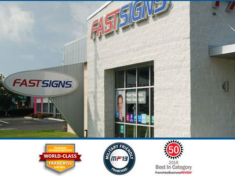The FASTSIGNS Franchise - recipient of several awards