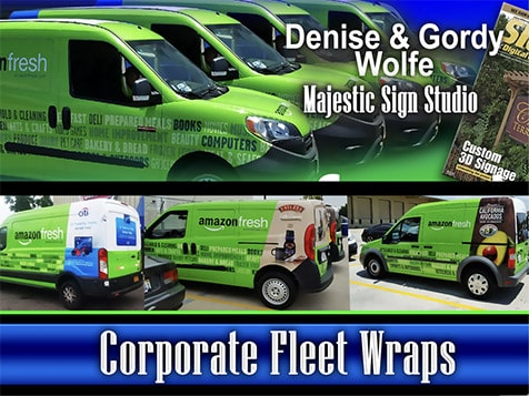 Signworld Fleet Wraps