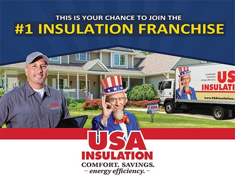 USA Insulation the #1 Insulation Franchise