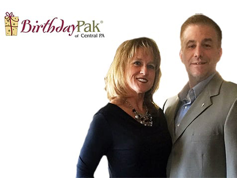 BirthdayPak Franchise Owners Stephanie & Jason Milbrandt of PA