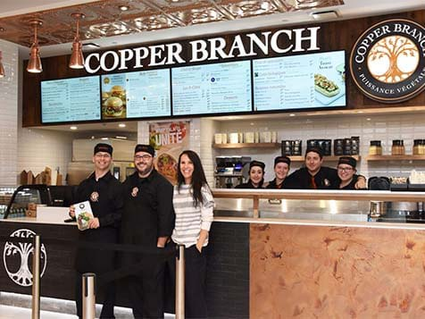 Smiling Copper Branch Franchise Employees