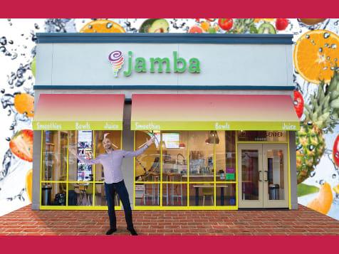 Outside a Jamba Juice Franchise
