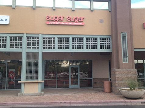 Outside a Sugar Sugar Franchise Location