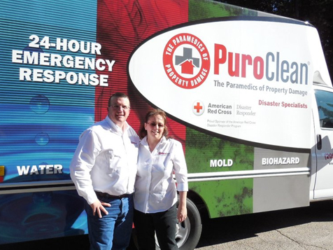 PuroClean Property Damage Franchise 24 hour service