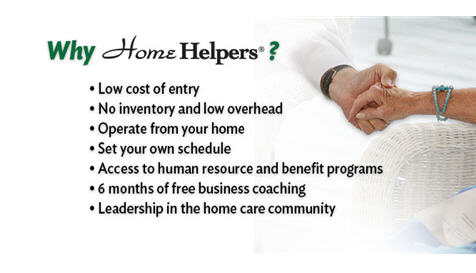 Home Helpers Franchise Benefits