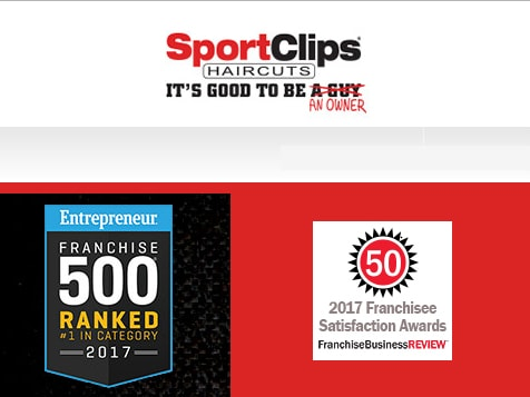 Sport Clips Franchise Recognitions
