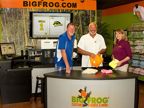 Big Frog Custom T-Shirt Franchise Owners