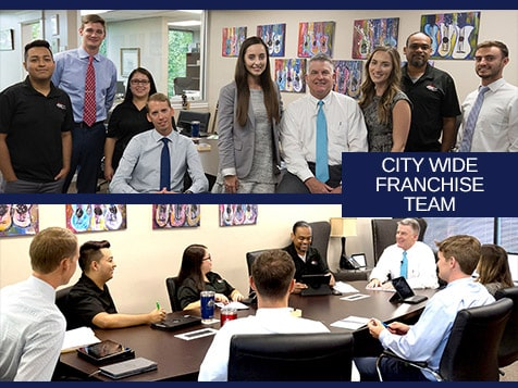 Support from the City Wide Franchise Team