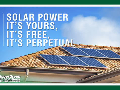 SuperGreen Solutions Franchise Solar Power