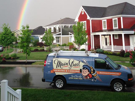 Main Street Heating & Cooling franchise has the owners best interest in mind