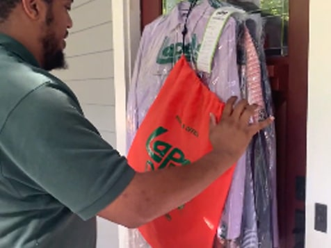 Lapels Dry Cleaning Franchise Delivery