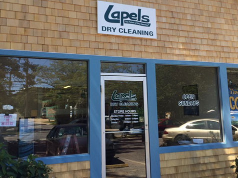 Lapels Dry Cleaning Franchise Exterior