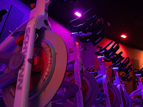 CycleBar stationary bikes