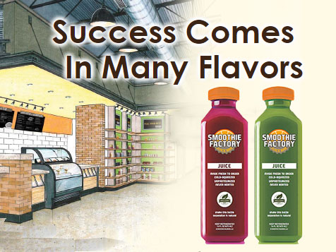Smoothie Factory Franchise Juice Bar