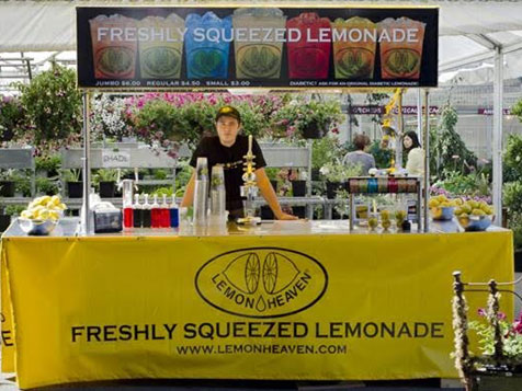 Work outside with a Lemon Heaven International Franchise