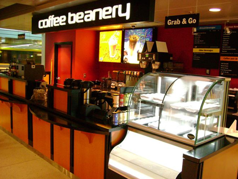 The Coffee Beanery Franchise Inside Location