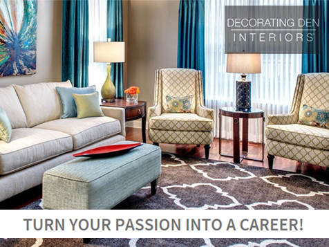 Turn your passion into a career with a Decorating Den Interiors Franchise