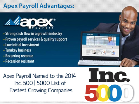Apex Payroll business opportunity advantages