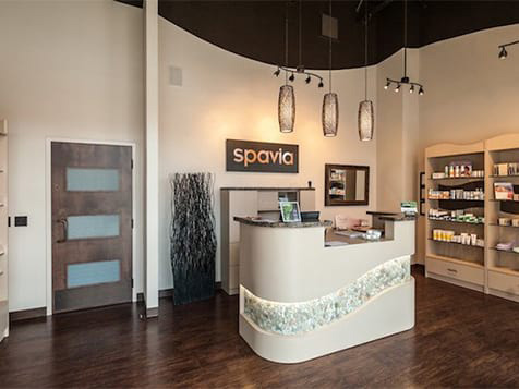 Spavia Day Spa Franchise Reception Desk