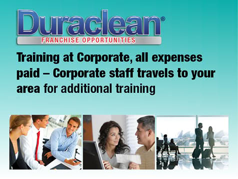 Duraclean Franchise Training Provided