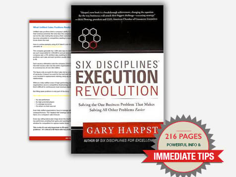 Six Disciplines Execution Revolution Downloadable Book