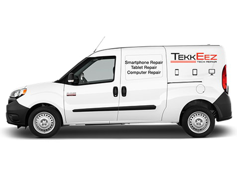 TekkEez Tech Repair Franchise Van