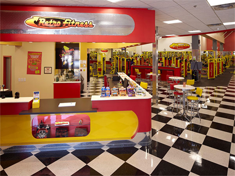 Retro Fitness franchise provides a one-stop shop for members
