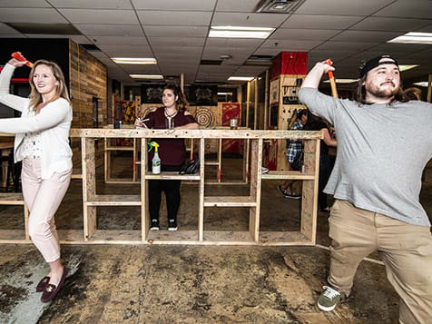 HaliMac Axe Throwing Franchise Couple