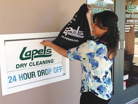 Lapels Dry Cleaning Franchise drop off