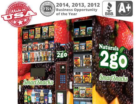 Naturals 2 Go Vending Business